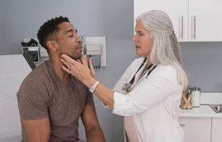 doctor consulting a patient
